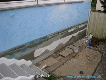 Wand Bild 3D Gemälde Kunst kreativ Meer Strand Armierungskleber Wellen