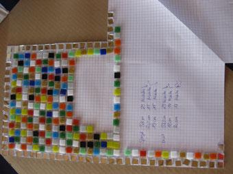 Mosaik selbst machen Entwurf