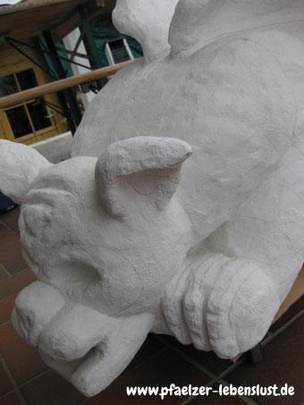 Hund Beton Garten Firgur Dekoration