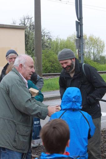 Dank an Hans-Peter Anderer (Foto: G. Franke)