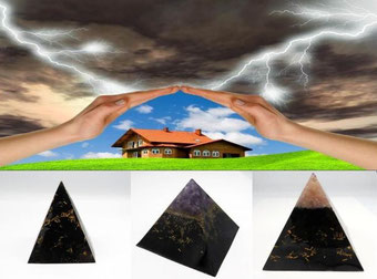 Pyramide Vortex - Pierre de protection - casa bien-être
