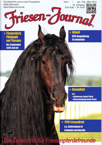 Habsburg am Titelblatt des Friesenjournals 1/2014