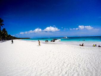 Insel Saona Strand
