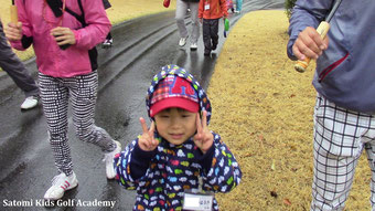 初のゴルフ楽しみ~Yeah!