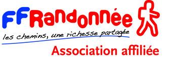 Logo FFRandonnée Association affiliée
