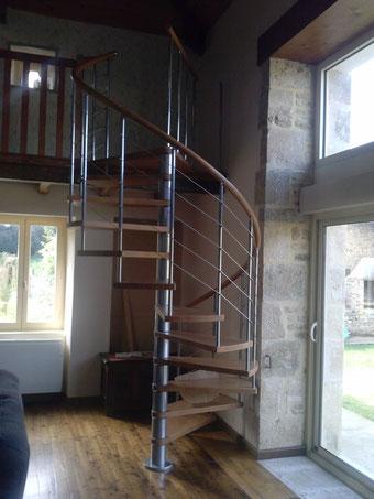 escalier de type colimaçon