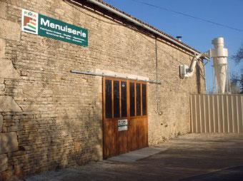 atelier de FMA Menuiserie à Lezay 79120