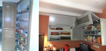 Aménagement de meuble de cuisine réalisé par FMA Menuiserie