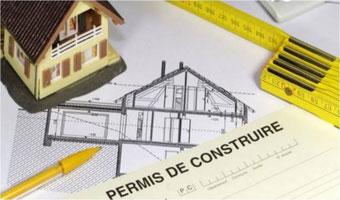 image de document de permis de construire pour extension bois