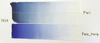 高森幸雄 硫黄化合物と鉛白の混色による黒変