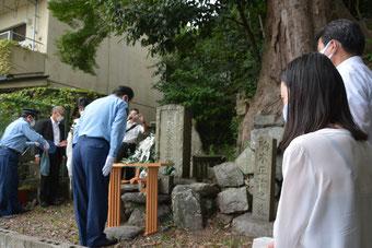 令和2年9月17日 故大窪長吉大人慰霊祭墓前奉告祭