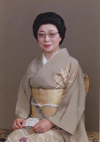 人間国宝 杵屋佐登代(高橋梅子)