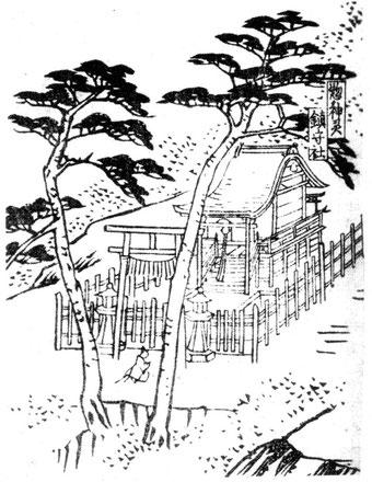 惣神灵鎮守社(総神霊鎮守社。霊明神社境内本殿のこと))