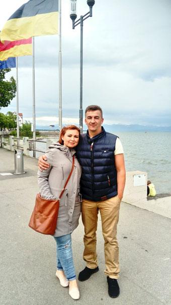 Sergey Lyamzin, Irina Lyamzin