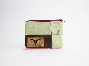 White Triangle Bag, recycled, wedding favor, eco friendly, vegan