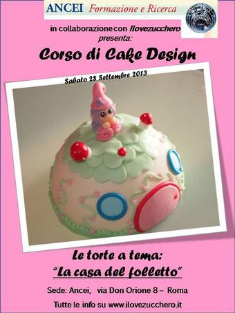 Corso Di Cake Design Gratuito Roma : Programma Corso scuola Ancei