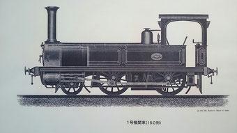 輸入当時の1号機関車