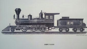 米国7100形蒸気機関車(通称弁慶号)