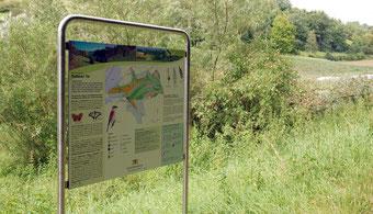 Naturschutzgebiet Infotafel
