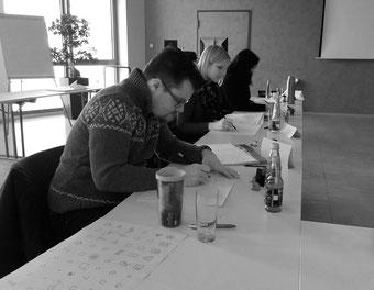 Inhouse Workshop Seminar Teilnehmer Visualisierung