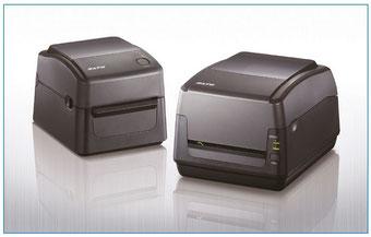 Schwarzer Desktop-Drucker SATO WS4