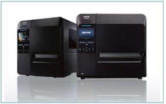 Industriedrucker von SATO, schwarz, 2 Stück