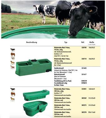 Agro-Widmer Stalleinrichtungen - Aktuell Weidetränken