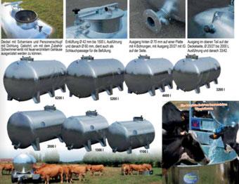 Agro-Widmer Stalleinrichtungen - Weidefässer auf Füssen von Pasdelou Galva