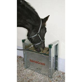 Agro-Widmer Stalleinrichtungen - Futterautomat für Pferde HorseGraze von Rovagro