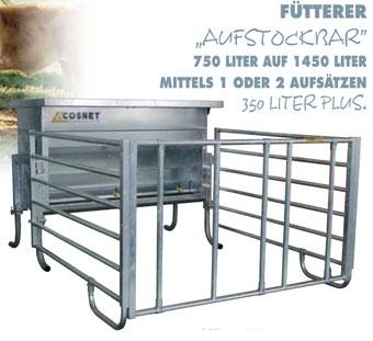 Agro-Widmer Stalleinrichtungen - Kälberfütterer Cosnet