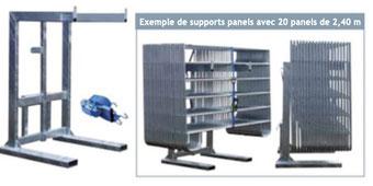 Agro-Widmer Stalleinrichtungen - Panelstapler Mobipac