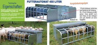 Agro-Widmer Stalleinrichtungen - Lämmer-Futterautomat