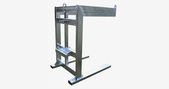 Agro-Widmer - Stalleinrichtungen - Foto Transportbock für 16 Panels