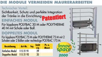 Agro-Widmer Stalleinrichtungen - Modul Tränkebecken