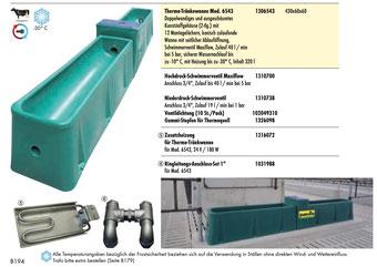 Agro-Widmer Stalleinrichtungen - Thermotränkewanne von Patura