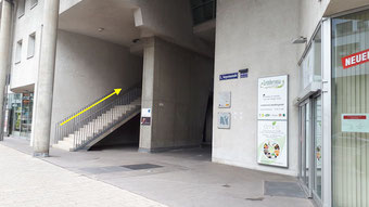 Treppe Vorgartenstraße