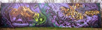 "11 Jahre Hip Hop Kulturzentrum ""Combo"" Gooze-Baske-Wuam    (Backdrop: Gooze/Baske)"