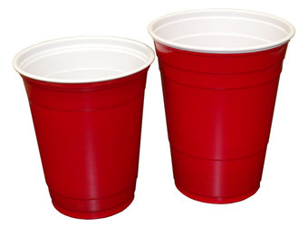 12 und 16 oz Red Solo Cups