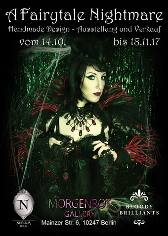 Fairytale Nightmare Pop up Store von Bloody Brilliants und Nebula Berlin 2017