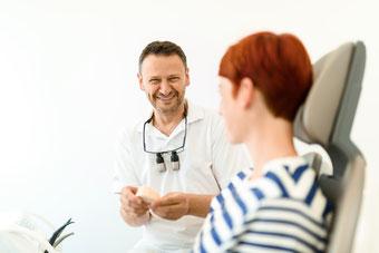 Bild: Zahnarzt, Hamburg, Parodontose, Parodontitis, Wurzelbehandlung