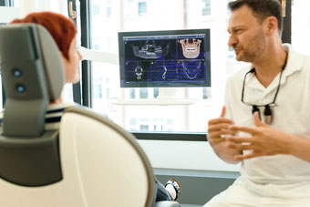 Bild: Zahnarzt, Hamburg, 3D Röntgen, Wurzelbehandlung