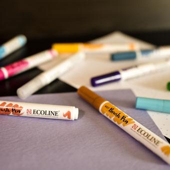 Ecoline Brush Pens 20 Farben
