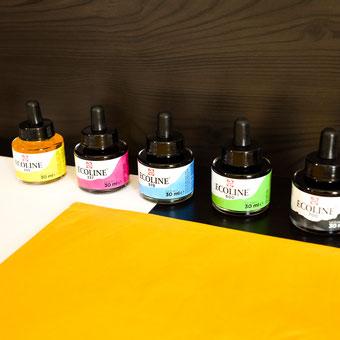 Ecoline Wasserfarben Set