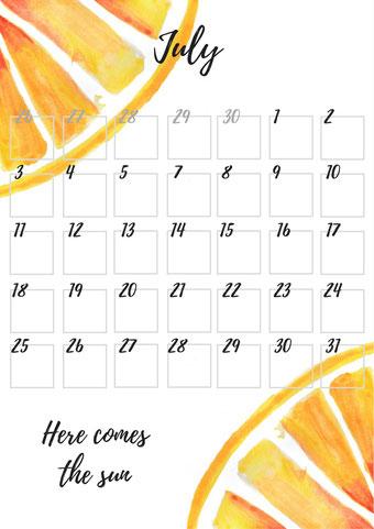Vorschau Monatsübersicht RiekesBlog.com Juli