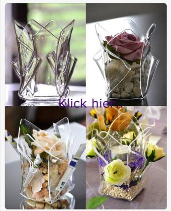 Acrylglas Vase klein