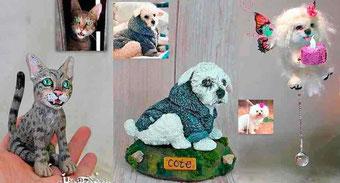 Figura mascota, recuerdo mascota personalizada, Figura perro, Figura gato...