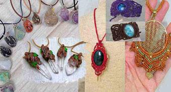 Colgantes cristales, Collares piedras naturales, Colgantes de Cuarzo, joyería piedras, joyería cristales, joyas y propiedades cristales, collar cuarzo, colgantes piedras