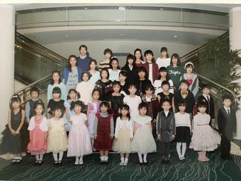 発表会集合写真 2014/12/21