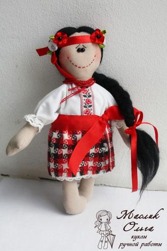 кукла-украиночка-украинка-Маслик-Ольга
