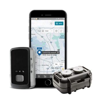 seguridadelectronica.com.gt Mini Rastreador GPS personal y de vehículos en tiempo real con M2 Impermeable, a prueba de intemperie, paquete magnético